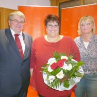 [Bürgermeisterkandidatin Melanie Plevka](https://melanie-plevka.de/) mit Ortsvereinsvorsitzenden Irene Franz und Kreisvorsitzenden Harry Scheuenstuhl