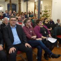 Volles Haus bei der Vorstellung des Wahlprogramms der Langenzenner SPD durch Bürgermeisterkandidatin Melanie Plevka