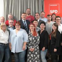 Die SPD Kandidaten für die Wahl des Langenzenner Stadtrats 2020